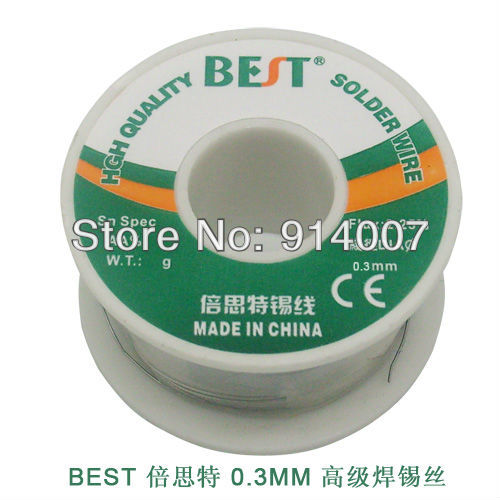 SZBFT 0.3mm 100g Best Tin Lead Melt  Solder Soldering /welding Wire Reel, freeshipping Dropshipping