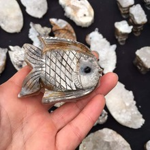 Natural White Crystal Fish Crystal cluster White crystal Raw Rockfish Decoration Hand piece Decoration Rockcrystal Wholesale J62 new in stock ve j62 iy vi j62 iy