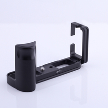 Dégagement rapide L Support de Plaque pour Fuji Fujifilm X T1 XT1 Tige Verticale Main Support De Prise En Main