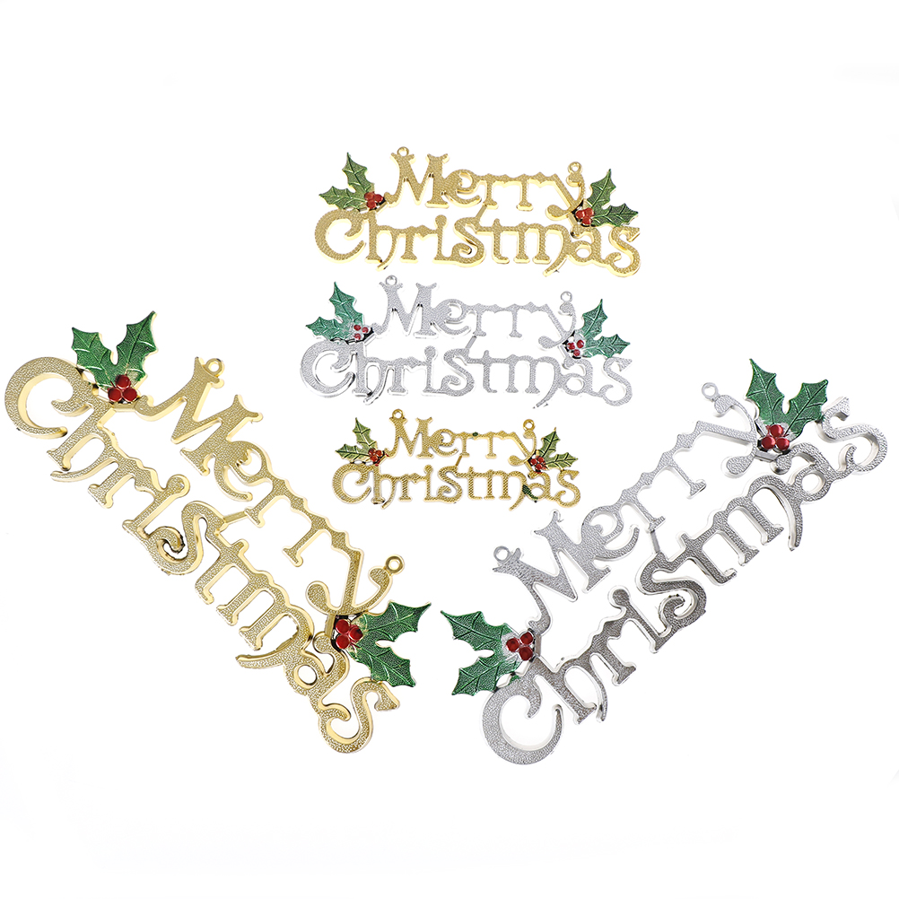 Merry christmas ornament for Outdoor merry christmas ornaments