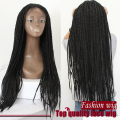 Synthetic Kinky Twist Senegallock Braided Lace Front Wig Mambo Twist Box Braid Hair Lace Front Wigs for black women