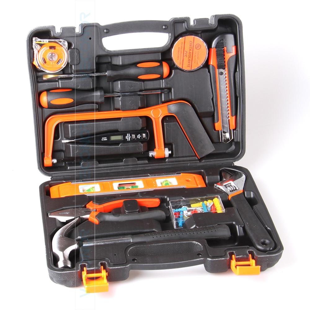 13pcs hand tool set kit household tool kit saw screwdriver hammer tape measure wrench plier 55pcs hand tool set kit household tool kit saw screwdriver hammer tape measure wrench plier