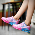 Women Casual Shoes women's Fly Weave Technology 2017 Flat Zapatillas Tenis Trainers Gym Shoes Female Fashion Walking Shoe