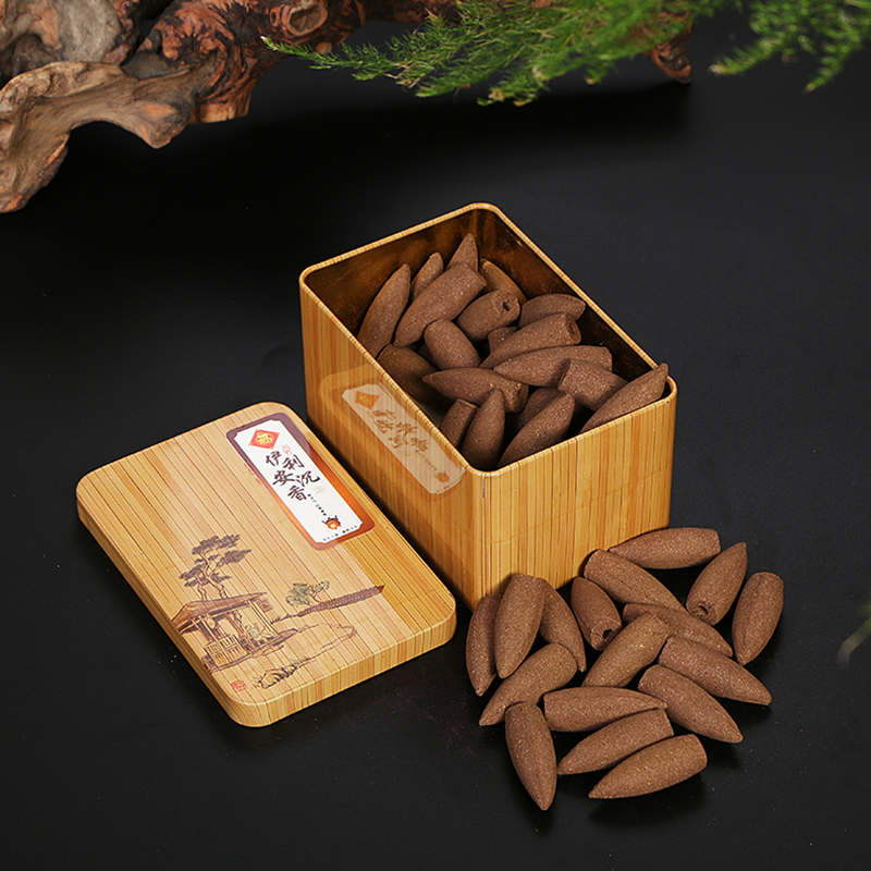 PINNY Natural More Flavor Backflow Incense Flower Bud Cone Incense Room Fragrance Aromatherapy Air Fresh Meditation
