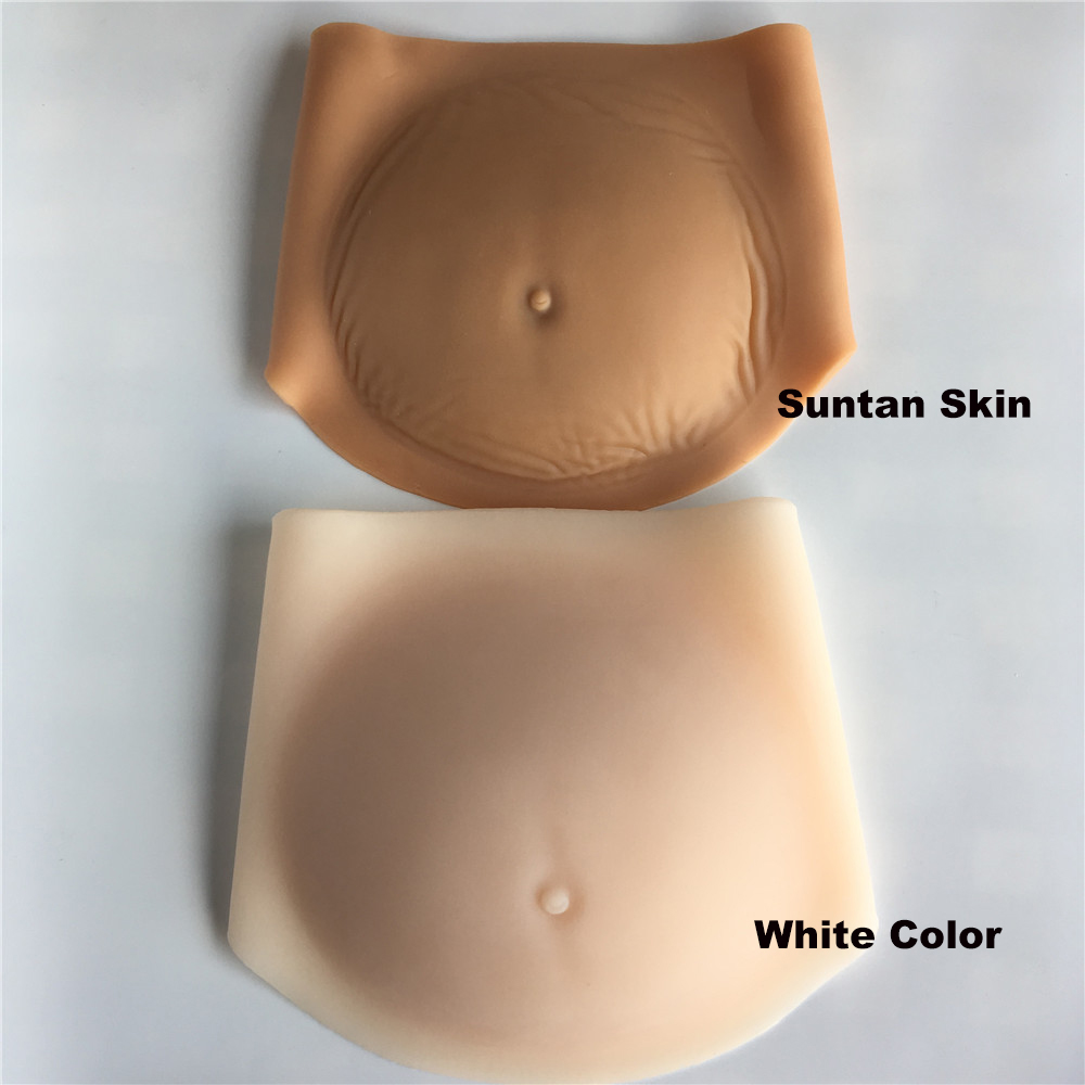 silicone artificial belly1