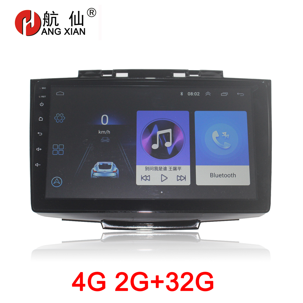 HANG XIAN 2 Din Car Radio For Greatwall Hover Haval H5 H3 2013-2016 Car Dvd Player Car Accessory Autoradio 4G Internet 2G 32G
