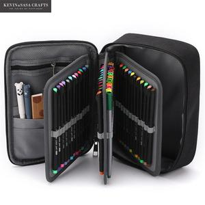 Image 3 - New Super Big Pencil Case Fabric Quality Cute School Supplies Stationery Gift School Cute Pencil Box Pencilcase Pencil Bag