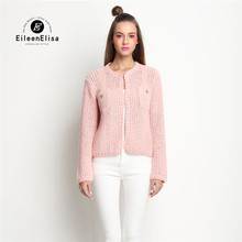 Women Spring Cardigan 2017 Luxury Brand Designer Pink Cardigan Sweater For Women Cardigan Spring