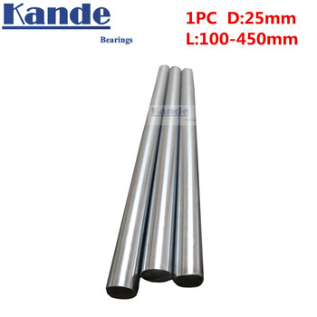 Kande Bearings 2pcs d:25mm 25x1500mm  4x SC25UU 25mm linear shaft  CNC parts