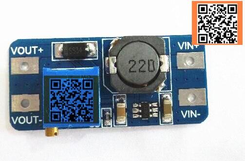 Nur gute qualität MT3608 DC-DC Step Up Nehmen Modul Booster Power Module MAX ausgang 28 V 2A Für Arduino
