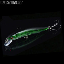 1PCS Laser Minnow Fishing Lure 10CM 8.5G pesca hooks fish wobbler tackle crankbait artificial japan hard bait swimbait FA-213