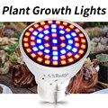 GU10 Светодиодная лампа для выращивания MR16 Led 220 В культура внутри Fito Светодиодная лампа для рассады E27 растительный светильник для теплицы E14 ...