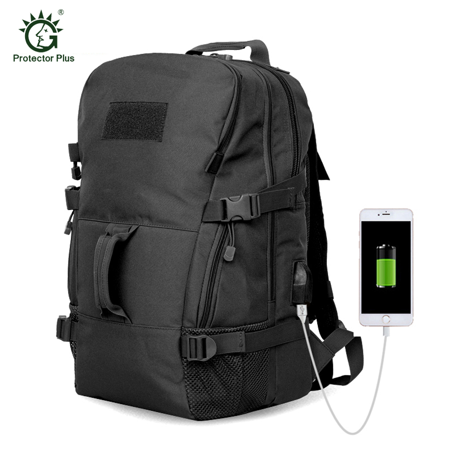2017 45L Outdoor Sport Women and Men Bag Mountaineering Tactical Backpacks Hiking Camping Travel Bags Camouflage Laptop Rucksack outdoor camping men bag mountaineering 35 litre backpacks coffee black cylindrical canvas rucksack women hiking travel daypack