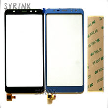 Syrinx 5.5 inch Met 3 m Tape Moible Telefoon Touch Panel Voor Leagoo M9 Touch Screen Digitizer Touchscreen Sensor Front glas(China)