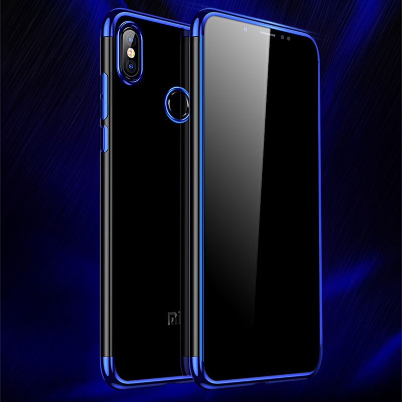 For Xiaomi Redmi S2 Case Redmi S 2 Cover Shockproof Armor Crystal Soft Panel Hard PC+TPU Bumper Case Cover For Xiaomi Redmi S2