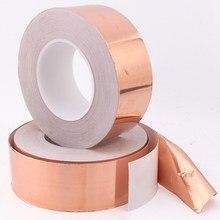 Cinta adhesiva de poliimida de alta temperatura, aislamiento de cinta adhesiva de alta temperatura, resistente al calor, 5/6/8/10/15/20/30/40/50mm de longitud, 20M, 1 unidad
