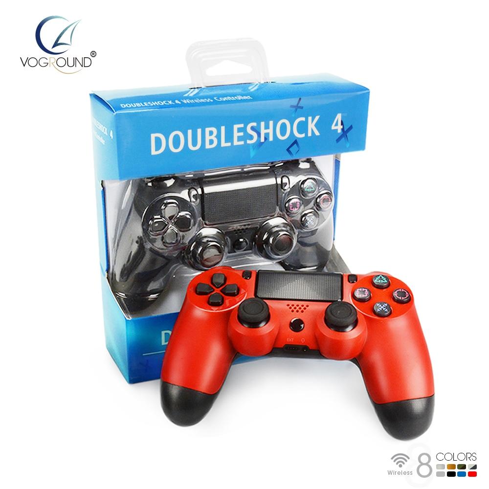 VOGROUND Nouveau Pour Sony PS4 Bluetooth Sans Fil Contrôleur Pour PlayStation 4 Sans Fil Double Choc Vibration Joystick Gamepads