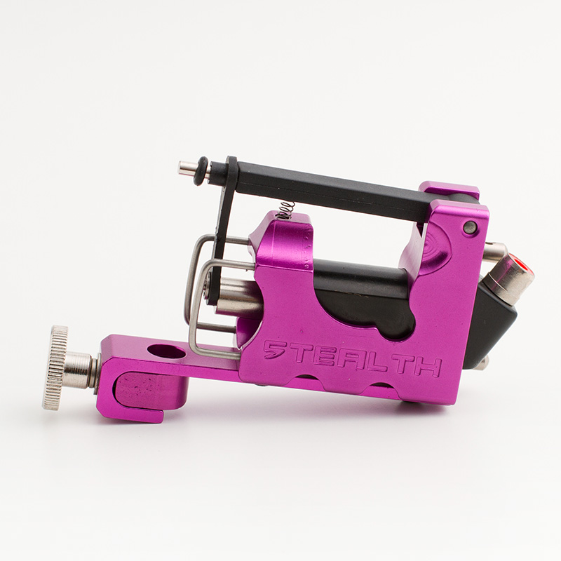 Purple STEALTH 2.0  Aluminum Rotary Tattoo Machine Liner Shader Supply Ink  Green tattoo gun Free Shipping 4 pcs liner shader tattoo rotary motor gun machine kit set swashdrive