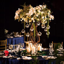12PCS Brand Hanging Tealight Holder Glass Candle Holder Globes Terrarium Wedding Candlestick Vase Home Hotel Bar Decor