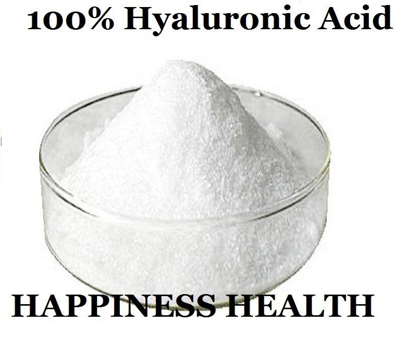 ФОТО Hyaluronic Acid 50g Low Molecular Weight! 100% Hyaluronic Acid/Hyaluronic Acid Powder/Sodium Hyaluronate 2016 Hot Sale