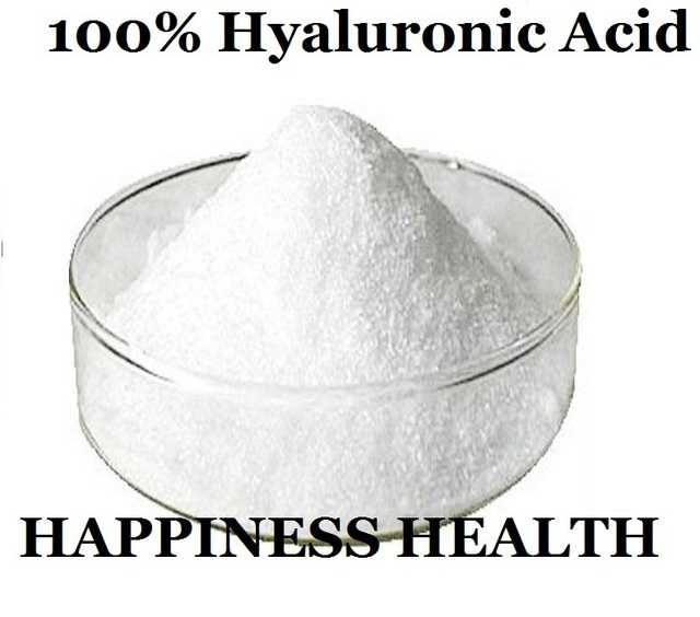Hyaluronic Acid 50g Low Molecular Weight! 100% Hyaluronic Acid/Hyaluronic Acid Powder/Sodium Hyaluronate 2016 Hot Sale