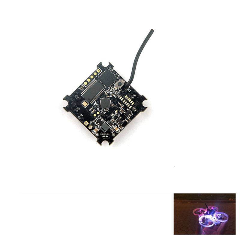 Beecore VTX F3 Brushed Flight Controller Built-in Betaflight OSD 25mw VTX with Smartaudio for Tiny whoop 6/7/6x/7x RC Mini Drone micro minimosd minim osd mini osd w kv team mod for racing f3 naze32 flight controller