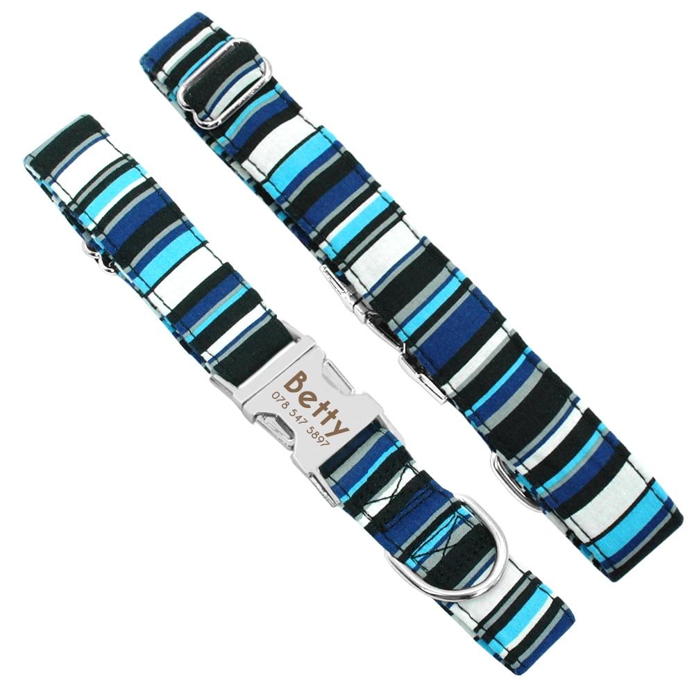 HTB1p7f4XsnrK1RjSspkq6yuvXXa2 - Dog Collar Personalized Nylon Pet Dog Tag Collar Custom Puppy Cat Nameplate ID Collars Adjustable