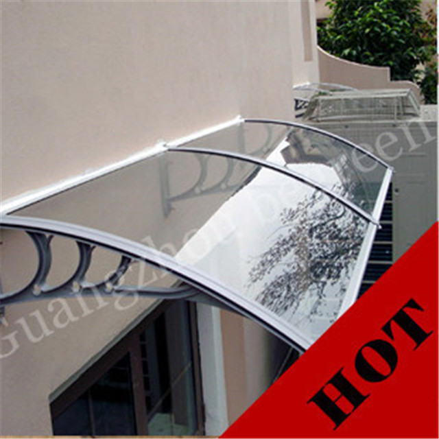 100x200 cm 39x79in YP100200-ALU toldos da janela, alumínio ute copa, porta dossel toldo em policarbonato