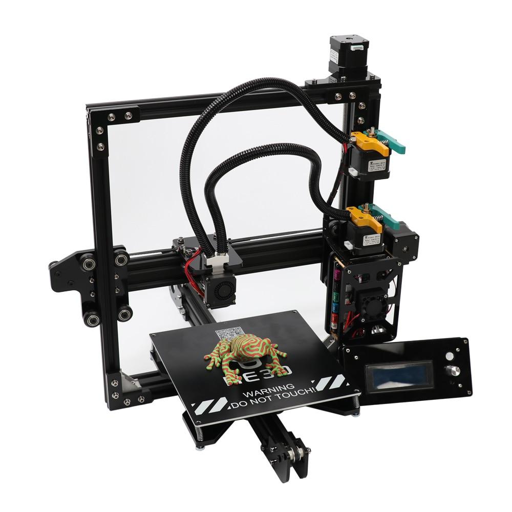 HE3D bricolage 3d imprimante kit nouvelle mise à niveau EI3 deux couleurs, 2 en 1 extrudeuse hotend