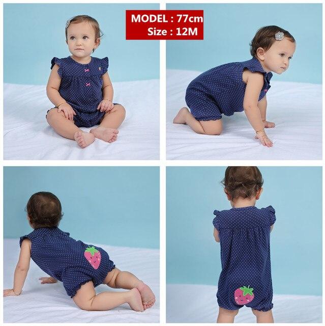 Orangemom yaz bebek kız giysileri tek parça tulumlar bebek giyim, pamuk kısa romper bebek kız giysileri roupas menina ev