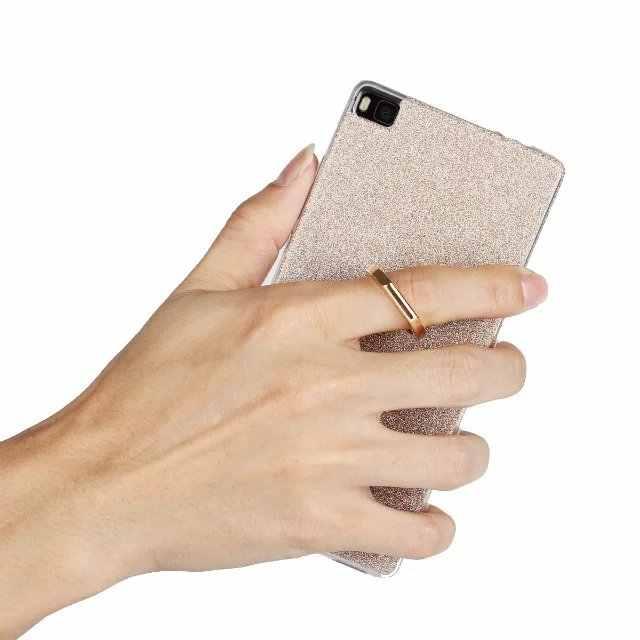 غلاف هاتف ناعم من Cyato على هاتف honor 3C 4C 5A 5C 5s 6X7 8 Mate 7 8 9 P8 P9 10 Lite Plus عالي الجودة مع مشبك حلقي