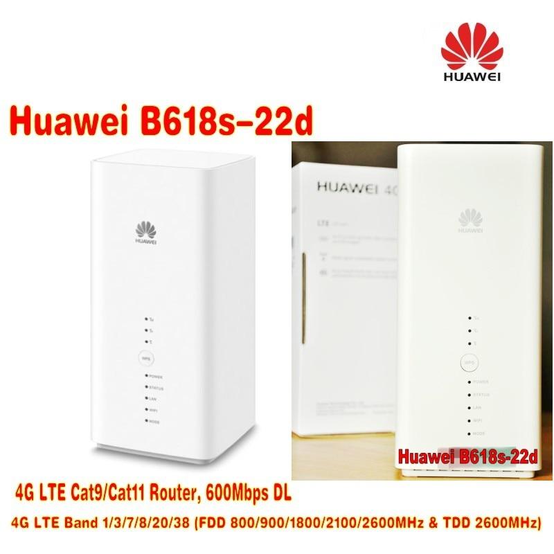 100pcs/Lots Huawei Original unlocked B618 LTE Cat11 Wireless Gateway router