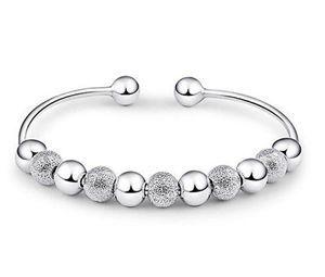 Romantic Design Cuff Bracelets & Bangles for Lovers Women Bracelet Cute Silver Plated Bangle Lady Women Gift Fashion Jewery