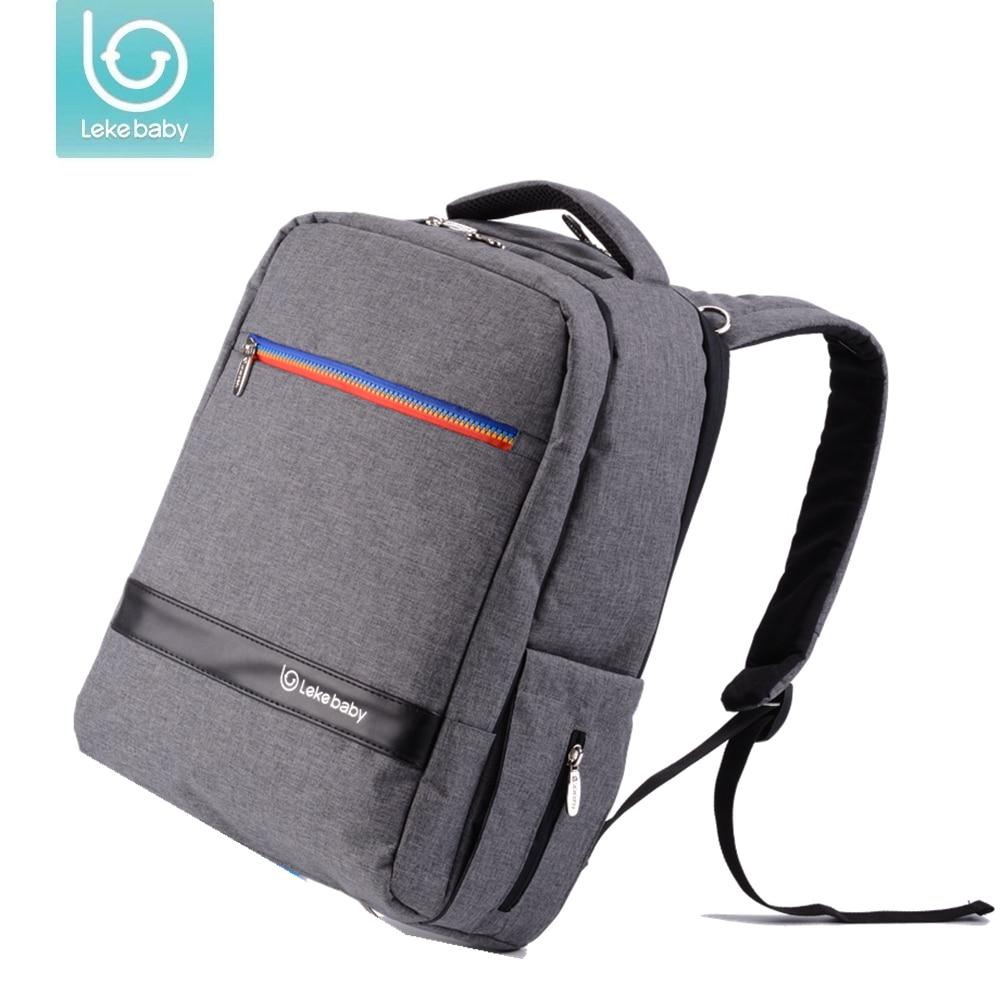 2 размера рюкзак для молодых мам пеленки мешок Мама Детские сумки для сменных подгузников Детские коляски Водонепроницаемый сумка рюкзак ...