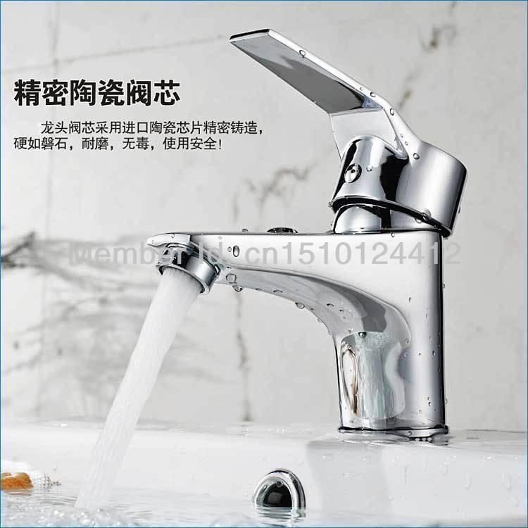 single lever basin mixer,brass wash basin taps,modern basin faucet ...