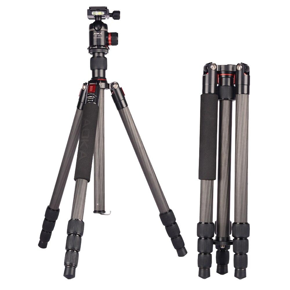 AOKA KR284C Professionellen reise stativ für kamera SLR DSLR Canon Nikon Sony Digital Video Gopor Aktionen Sport kamera