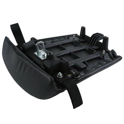 Black Rear Passenger Seat Cushion Pillion For YAMAHA YZF R1 YZF-R1 2000 2001