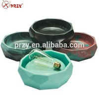 Silicone Concrete Mold Cement Reusable Mould 3d Silicone Molds Geometric Shape Flowerpot Molds Planter Mold Vase