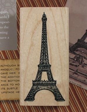 DIY Scrapbooking Korea Eiffelova věž retro pečeť Razítka Vintage - Umění, řemesla a šití