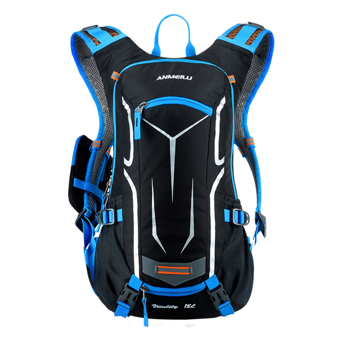 18L men and women  backpack riding  backpack with rain cover18L men and women  backpack riding  backpack with rain cover