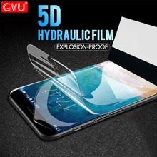 GVU 5D Soft Full Cover Screen Protector For iPhone 6 6s 7 8 Plus X Hydrogel Film For iPhone 7 8 6 Plus Film not Tempered Glass