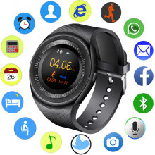 2019 New Smart Watch Men Fitness Sport Pedometer SmartWatch Bluetooth Music Player Sedentary Sleep Monitoring Reloj inteligente(China)