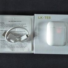 Водонепроницаемые LK-TE8 LK TE8 сенсорного типа беспроводные наушники Bluetooth бинауральные звонки умные наушники Беспроводная зарядка Bluetooth 5,0
