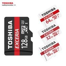 Toshiba U3 карты памяти 128 ГБ 64 ГБ SDXC макс до 90 МБ/с. Micro SD карты SDHC-I 32 ГБ 16 г U1 Class10 официальный проверки