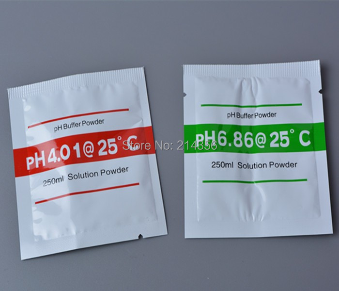 100set 200 bags PH Buffer Powder For PH Test Meter Measure Calibration Solution 1Pcs 4 01