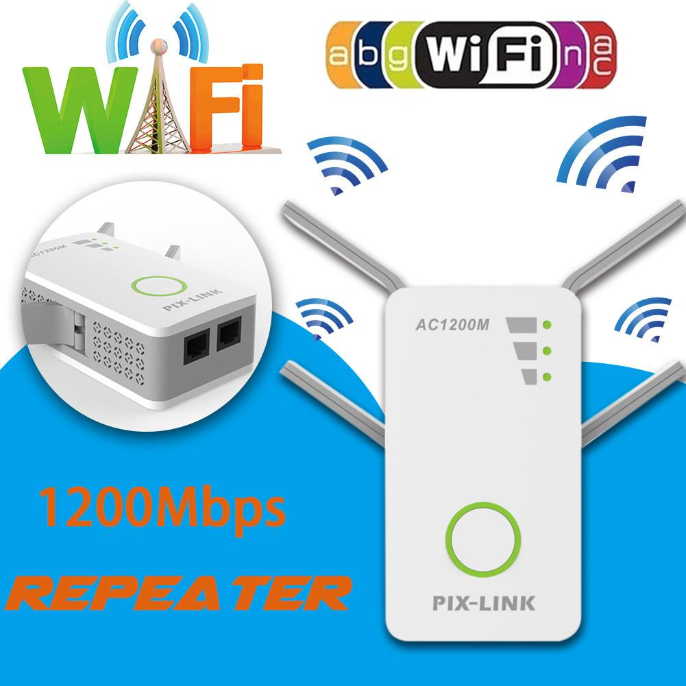 1200M Enhanced AP Double Antennas Router Extender Wireless Network Repeater Wi-Fi Signal Amplifier Signal Boosters1200M Enhanced AP Double Antennas Router Extender Wireless Network Repeater Wi-Fi Signal Amplifier Signal Boosters