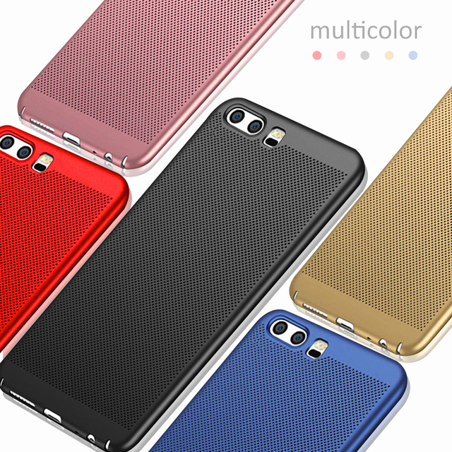 Heat Dissipation Case For Huawei P20 Pro Mate 10 lite Plus P10 P8 P9 Lite mini Y3 Y5 2017 Y6 II Nova 3E Honor 8 9 6X 7X 8 Lite