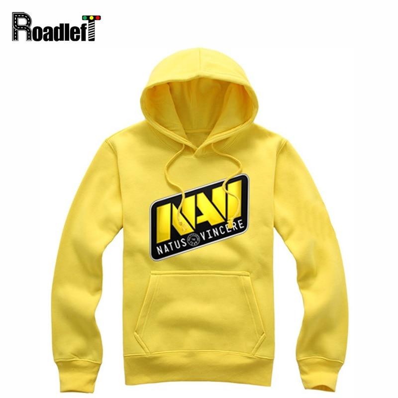 Men Women Clothing Navi Cotton Hoodies Boy Sweatshirt Mens Natus Vincere CS Dota 2 Gamer Tracksuits