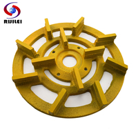 RIJILEI 220mm diamond metal bond grinding disc 8inch Grinding Wheel for auto polishing machine Grinding Abrasive Tools MG02