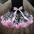 Bebé chicas arco iris Tutu faldas venta caliente Pettiskirt del tutú faldas con la cinta arreglada doble cinta afilada faldas PETS-084